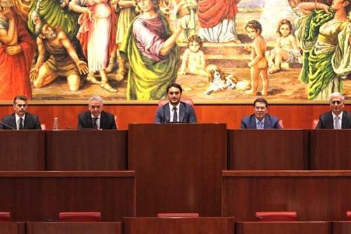 Consiglio regionale rinnovato l 39 ufficio di presidenza for Ufficio di presidenza