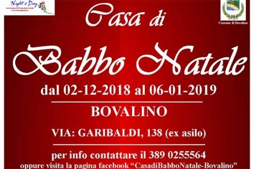 Casa Babbo Natale 2019.A Bovalino Torna La Casa Di Babbo Natale Calabria Post
