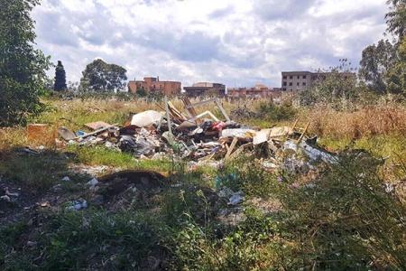 L'Osservatorio Disagio Abitativo sull'emergenza rifiuti nell'area della ex Polveriera di Ciccarello